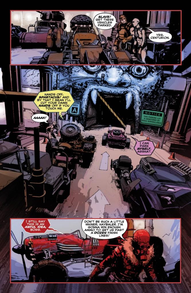 WACKY RACELAND #4 page 5