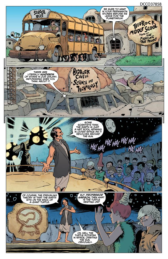 THE FLINTSTONES #3 page 1