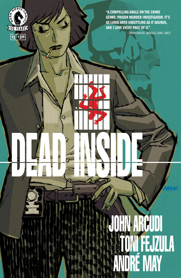 DEAD INSIDE #1 cover by Dave Johnson