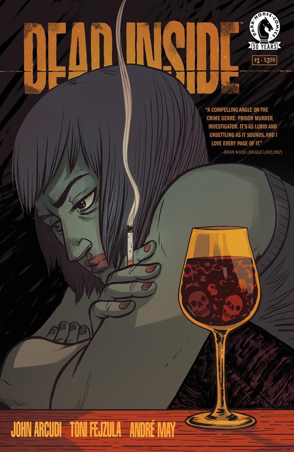 DEAD INSIDE #1 variant cover by Faith Erin Hicks