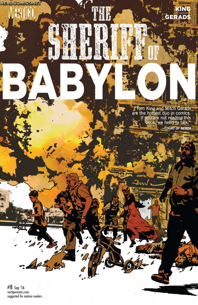 Cover for The Sheriff of Babylon #8.