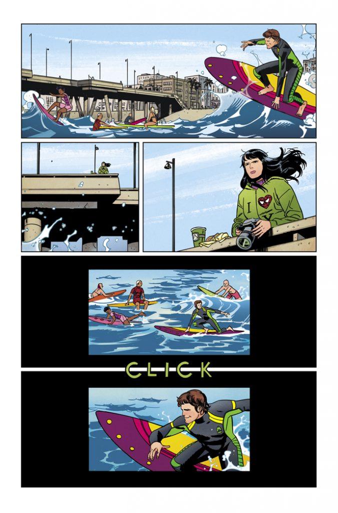 HAWKEYE #1 page 1