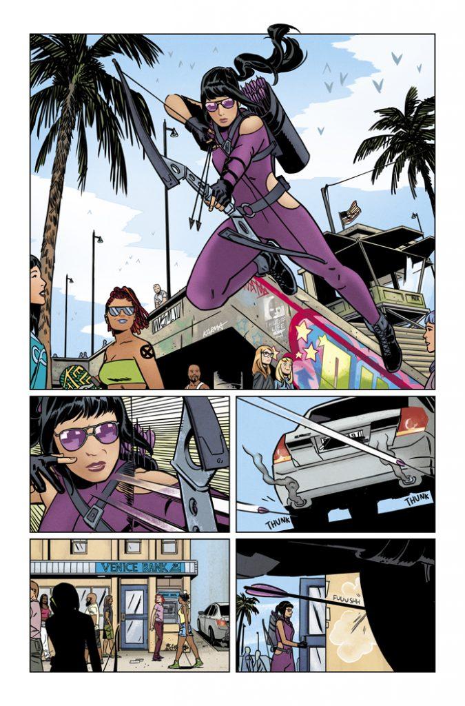 HAWKEYE #1 page 3