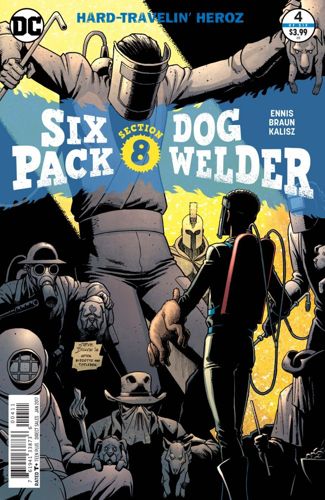 SIXPACK AND DOGWELDER: HARD-TRAVELIN' HEROZ #4 cover