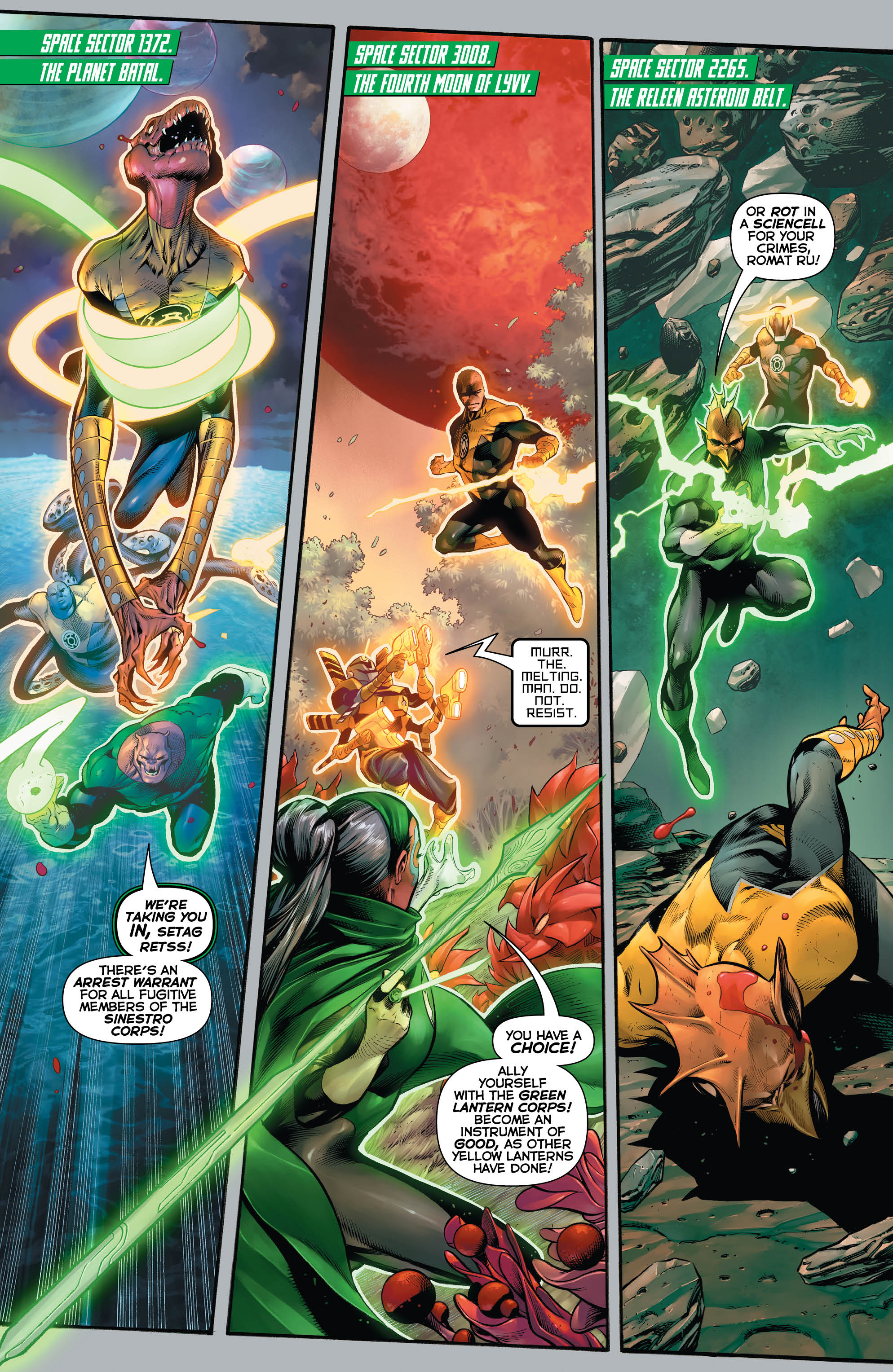 Exclusive Preview: HAL JORDAN AND THE GREEN LANTERN CORPS
