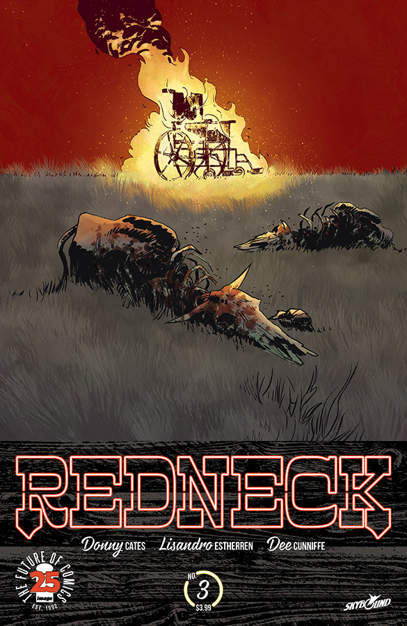 Donny Cates on Vampires & Texas in REDNECK - Freaksugar