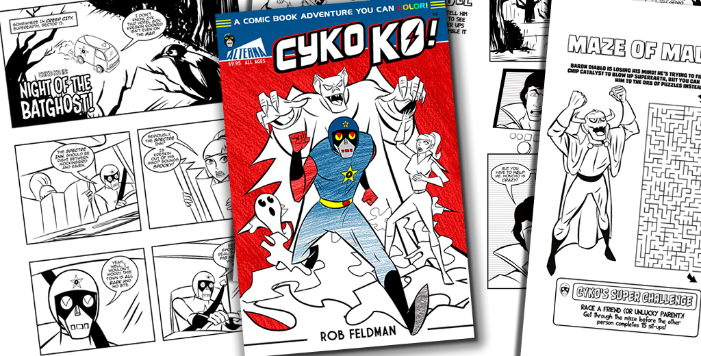 Creator Robert Feldman Colors the World with His Cyko KO Coloring ...