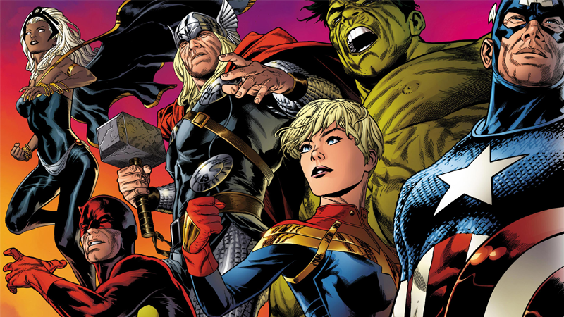 Marvel Teases Members Of The 1 000 000 Bc Avengers