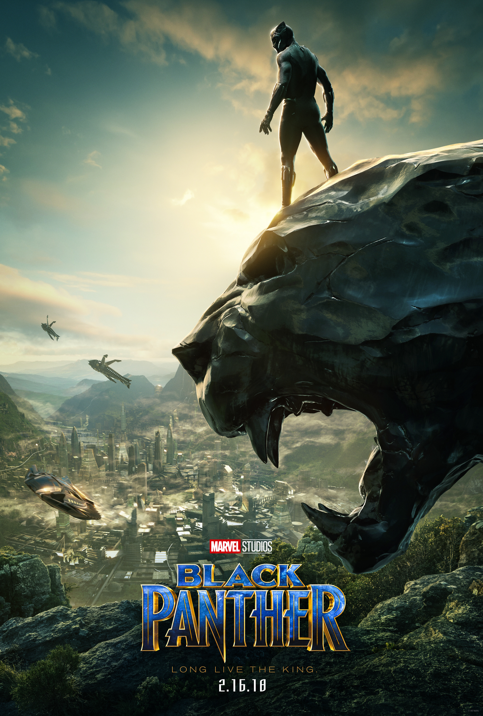 Black Panther Takes In His Kingdom In New Movie Poster Freaksugar