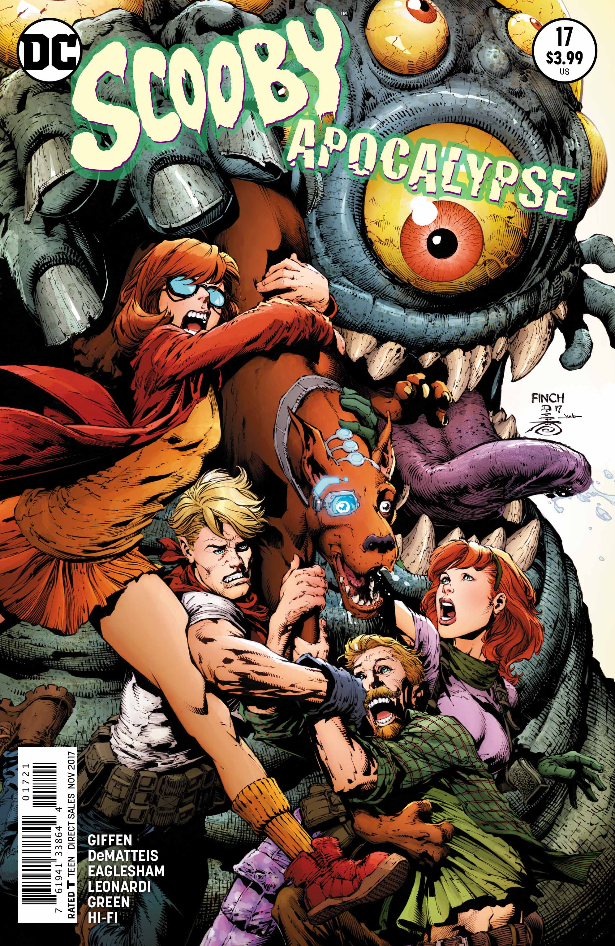 exclusive preview  scooby apocalypse  17