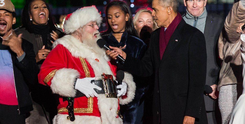 Obama Christmas.Former President Obama Vows To Take Away Merry Christmas