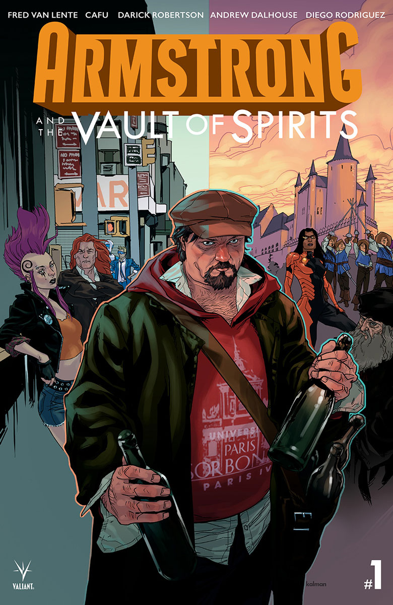 Exclusive Preview: ARMSTRONG AND THE VAULT OF SPIRITS #1 - Freaksugar