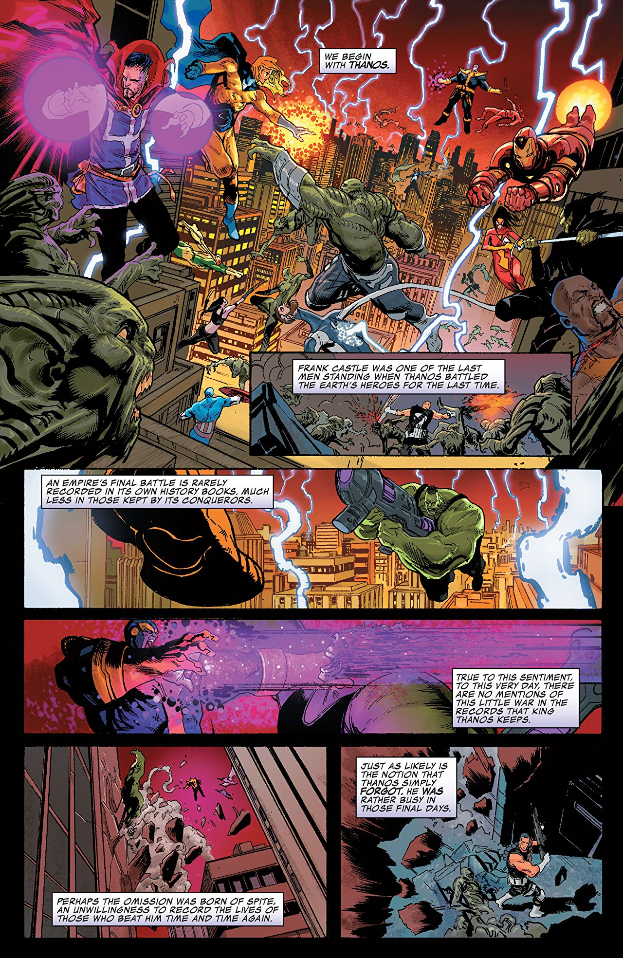 The New Ghost Rider Has One Hell of an Origin in THANOS #16 - Freaksugar