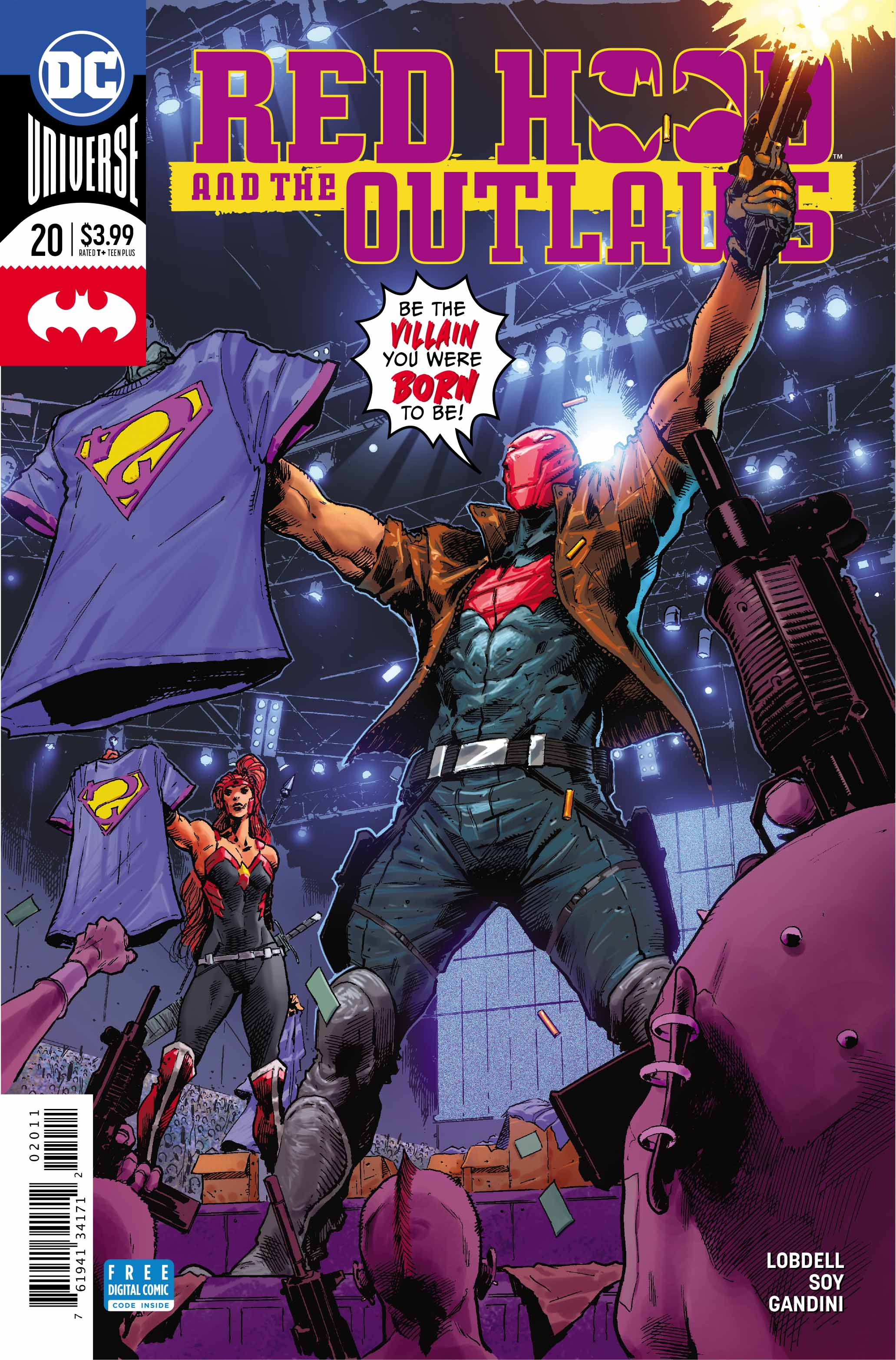 Exclusive Preview Red Hood And The Outlaws 20 Freaksugar