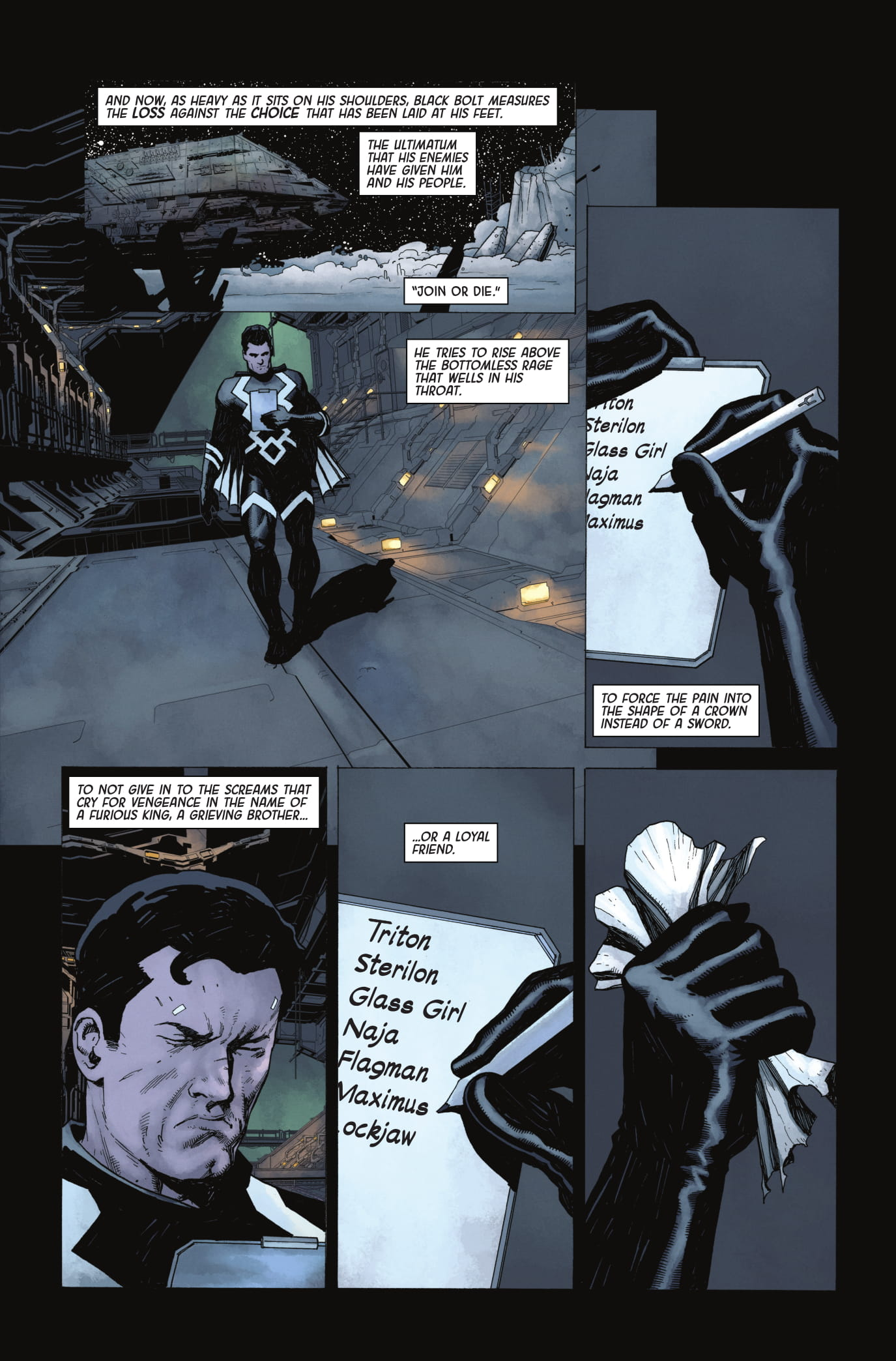 Exclusive Preview Death Of The Inhumans 2 Freaksugar