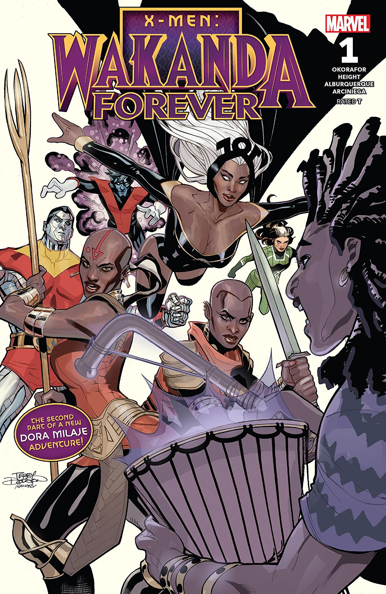 Exclusive Preview: X-MEN: WAKANDA FOREVER #1