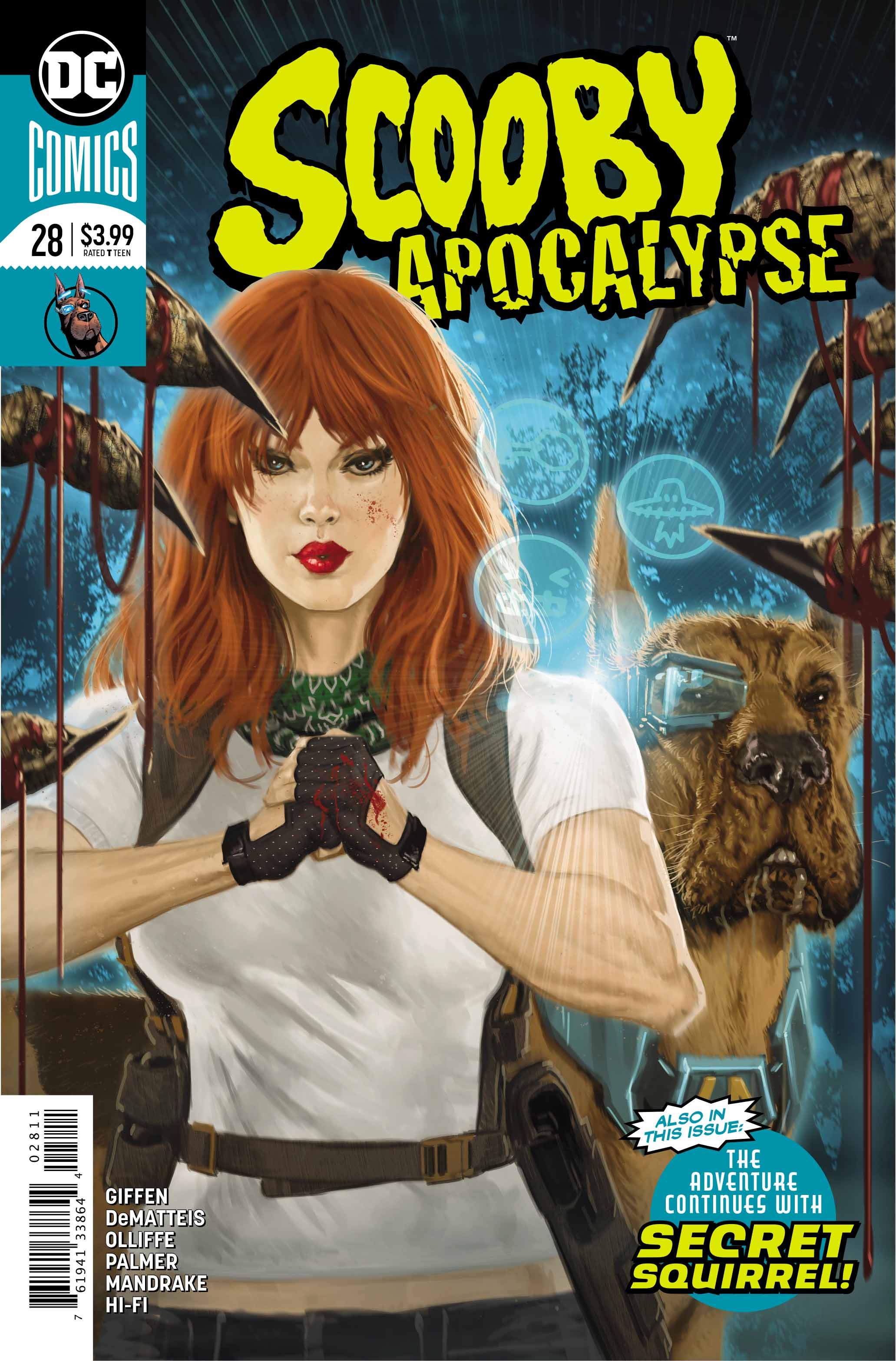 Exclusive Preview Scooby Apocalypse 28 Freaksugar