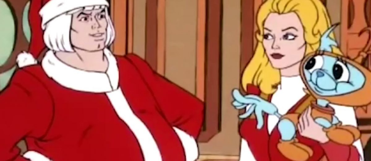 He Man She Ra Christmas Special.Win A Copy Of He Man She Ra A Christmas Special Freaksugar