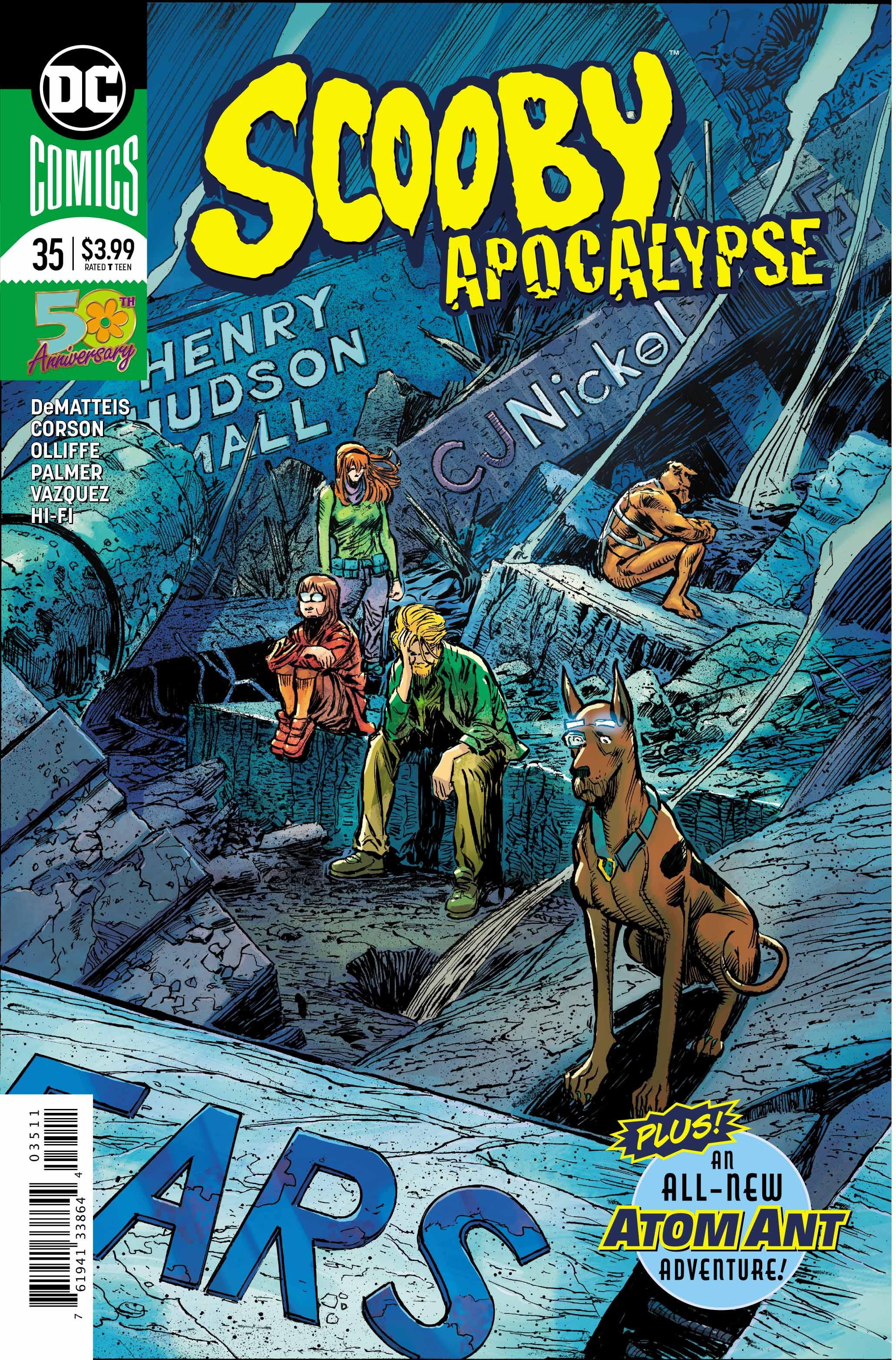 Exclusive Preview: SCOOBY APOCALYPSE #35 - Freaksugar
