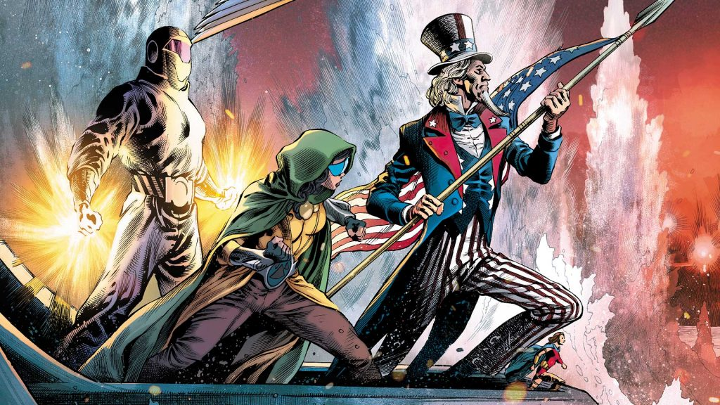 Exclusive Preview: FREEDOM FIGHTERS #5