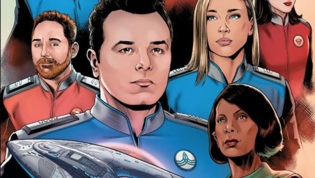 David Goodman & David Cabeza on Adapting THE ORVILLE for Comics
