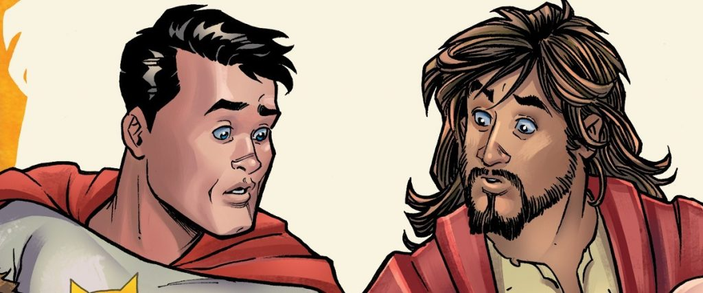 Mark Russell on Examining Religion & Superheroes in SECOND COMING