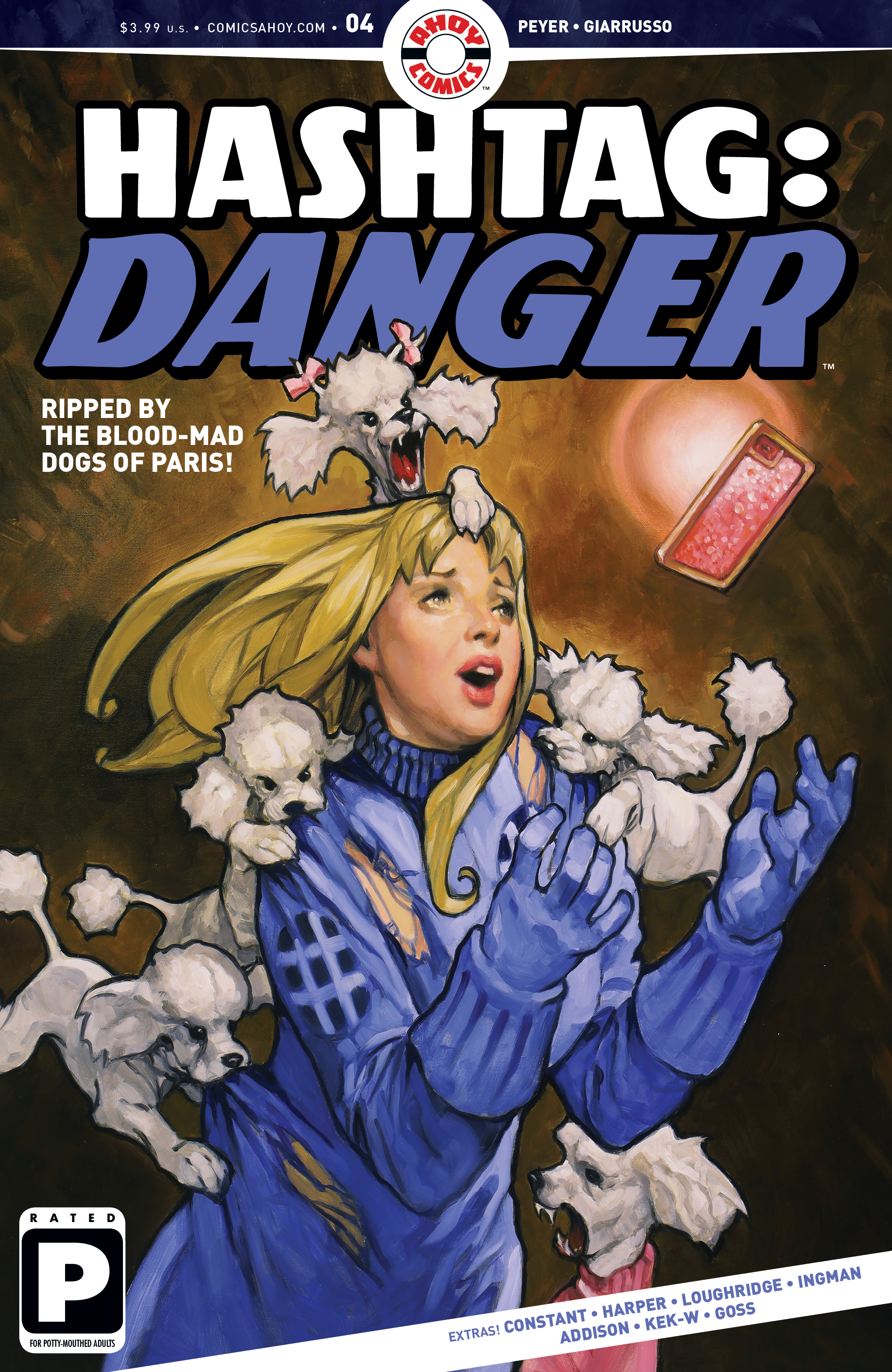 Exclusive Preview: HASHTAG: DANGER #4