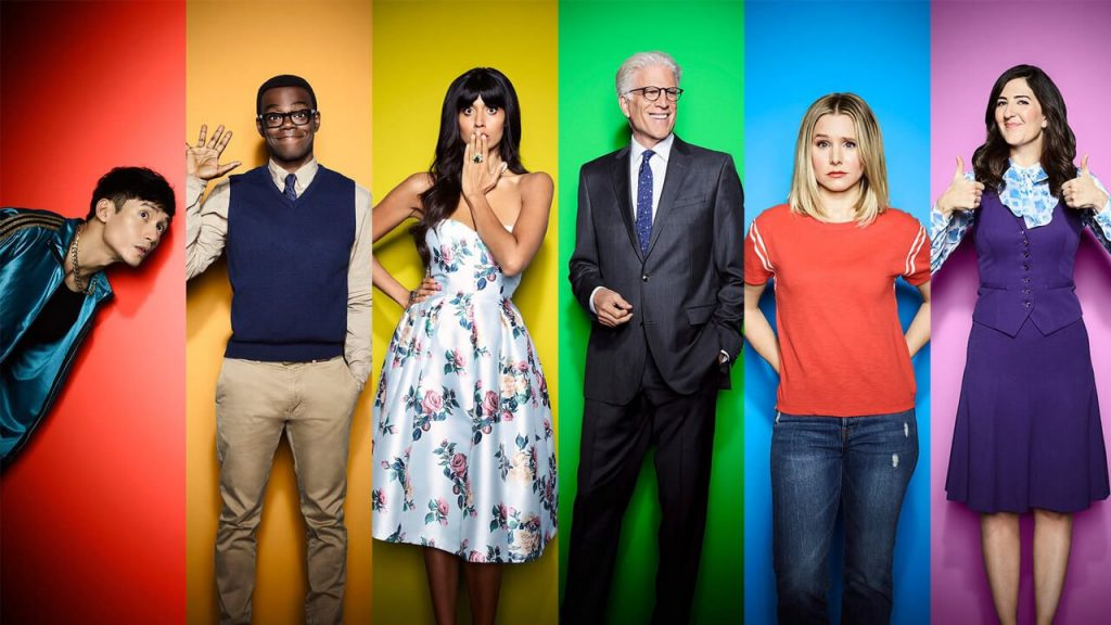 These Posters for THE GOOD PLACE Season 4 Are Heavenly!